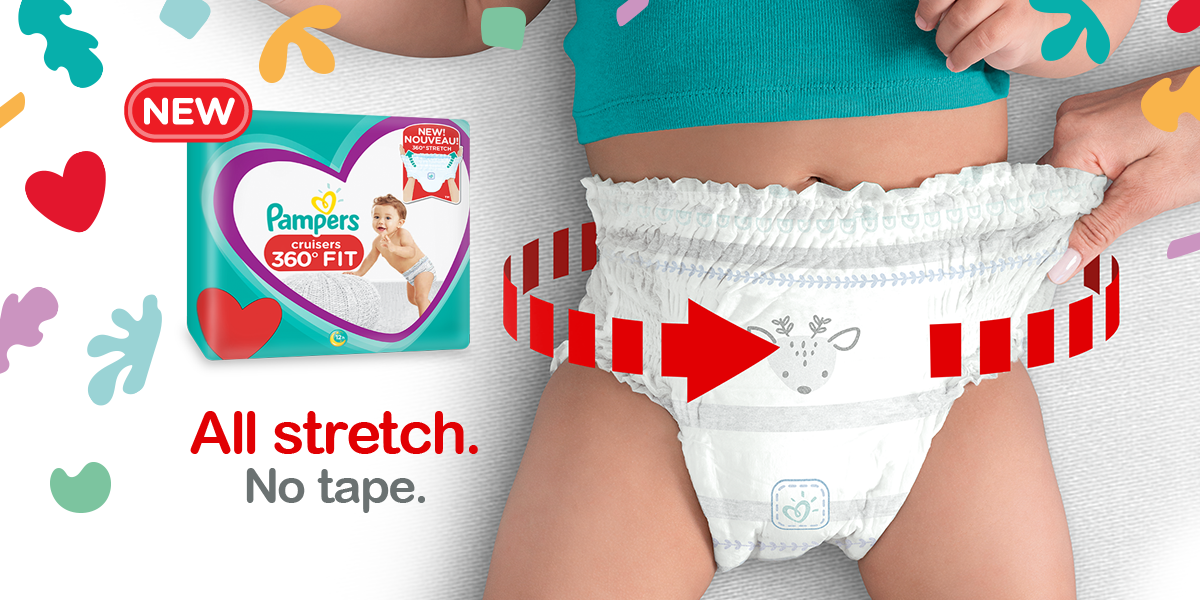 Pampers Debuts New 'Yoga Pants' of Diapers for the Most Active Babies