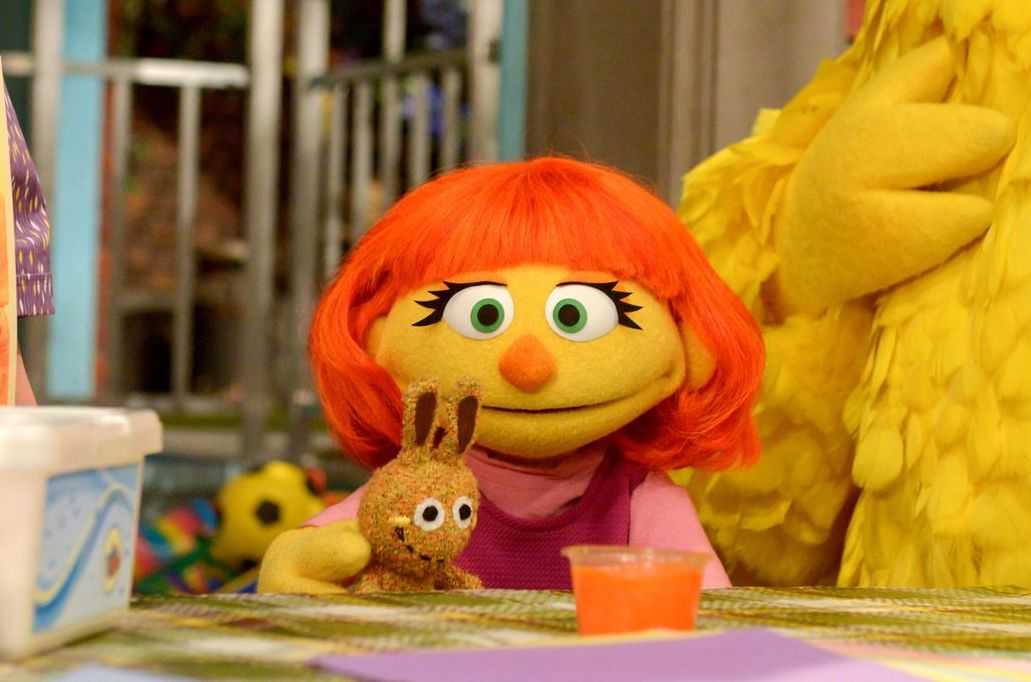 What Sesame Street's Julia Wants Your Kids to Know About Autism