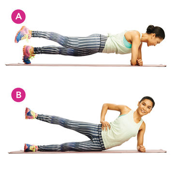 Leg Lift and Plank Roll