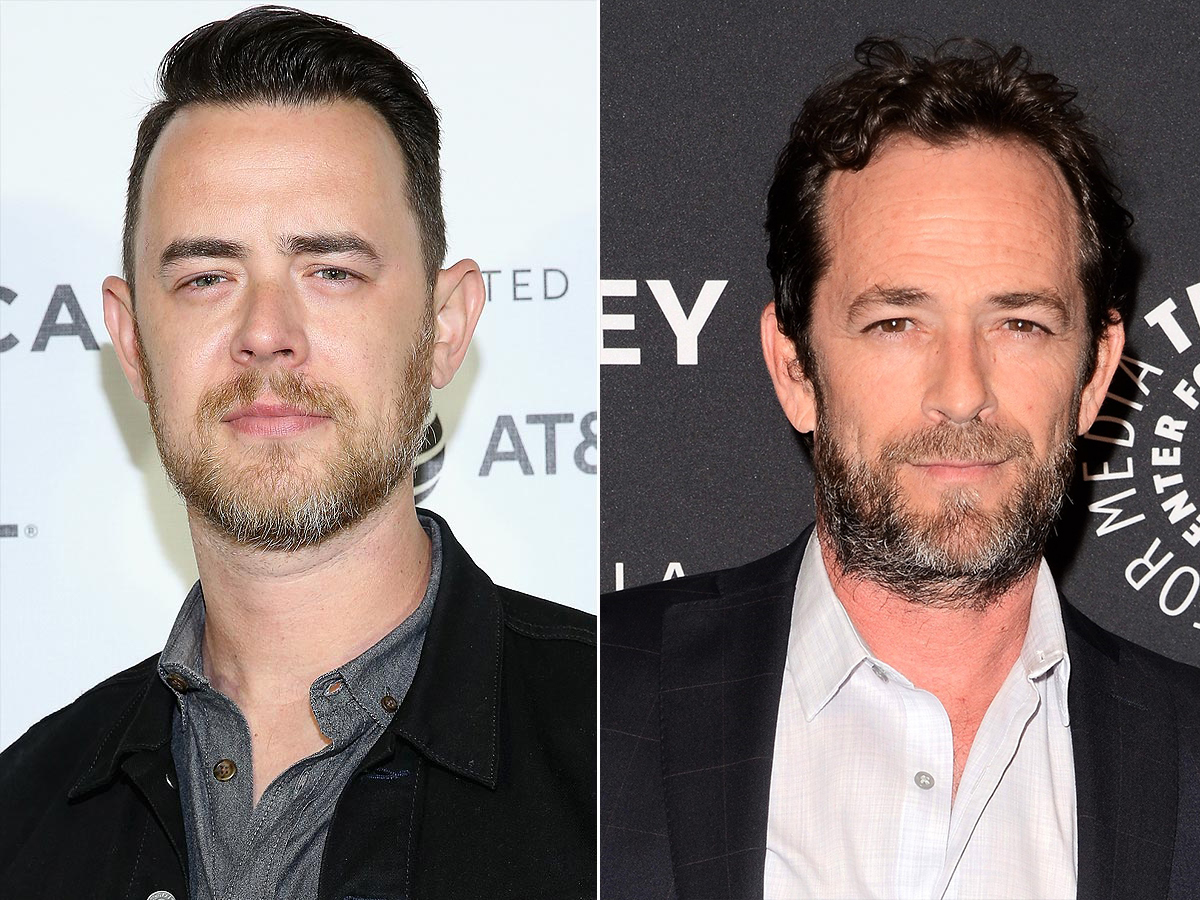 Colin Hanks Shares Sweet Story About the Touching Way Luke Perry Quieted Kids on a Packed Plane