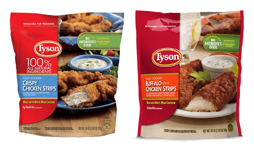 Tyson Is Recalling Over 69,000 Pounds of Frozen Chicken Strips