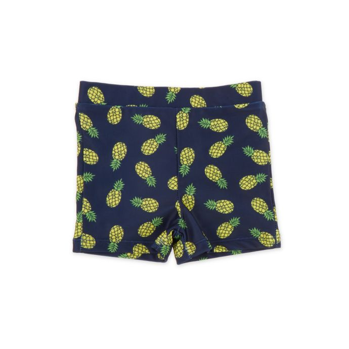 Freestyle Revolution Pineapple Tight-Fitting Swim Trunks