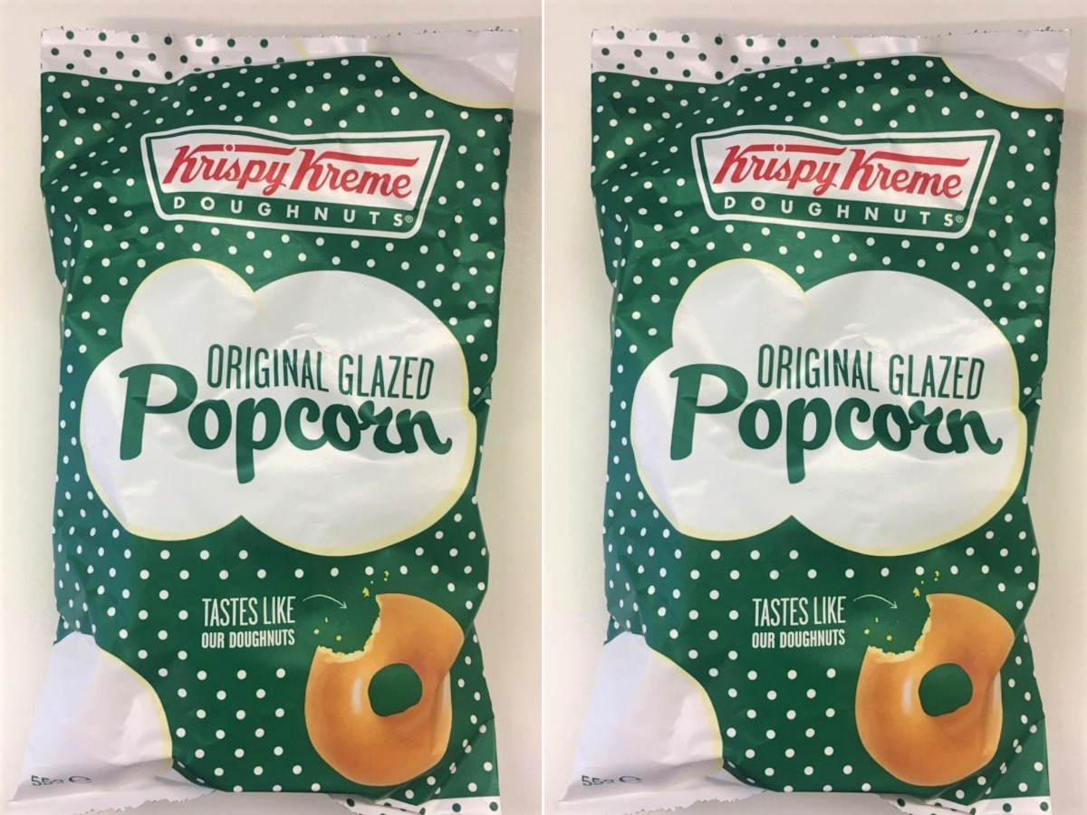 Krispy Kreme-Glazed Popcorn Exists and It Sounds Amazing