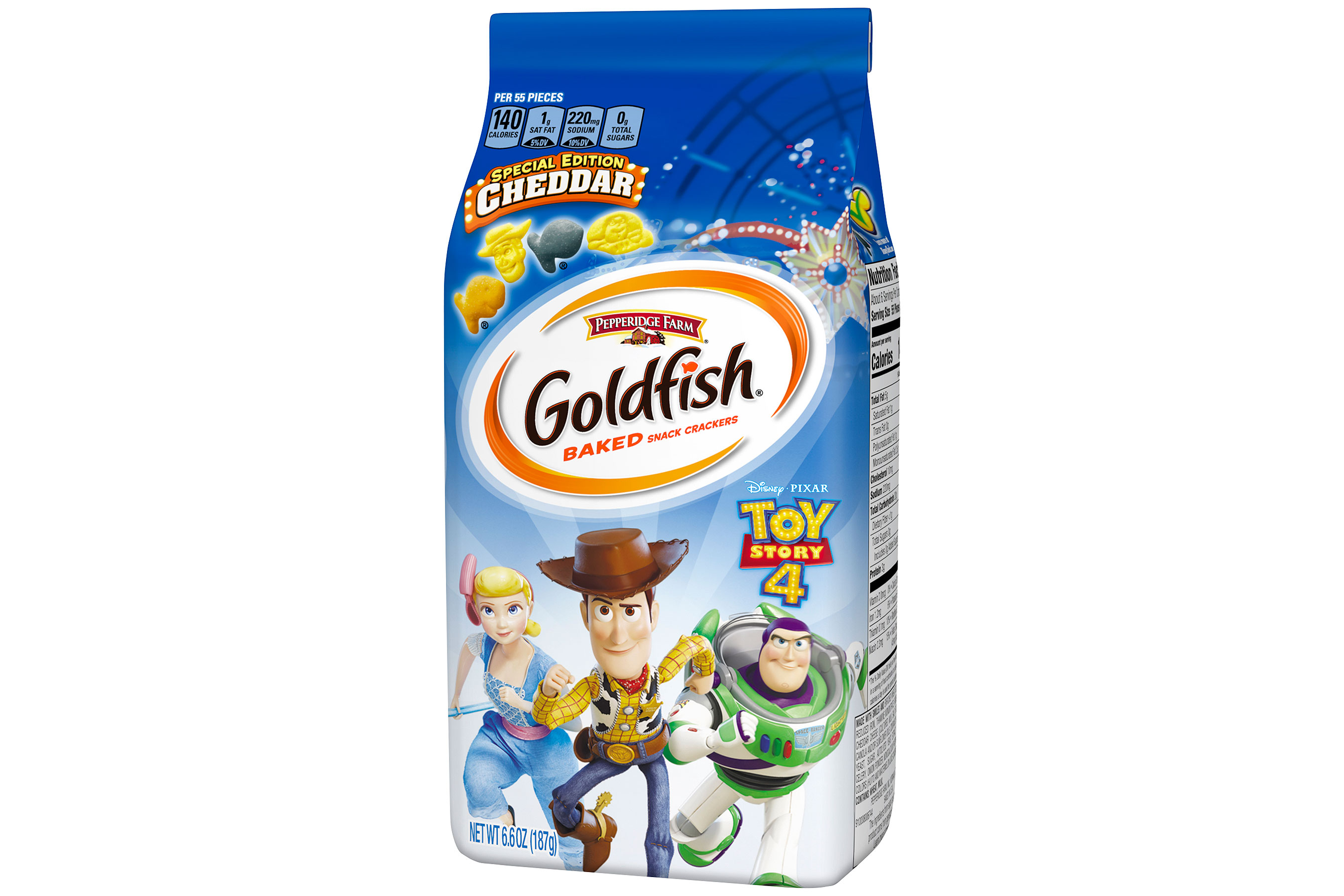Toy Story Goldfish Have Arrived with Woody and Buzz Lightyear-Shaped Crackers