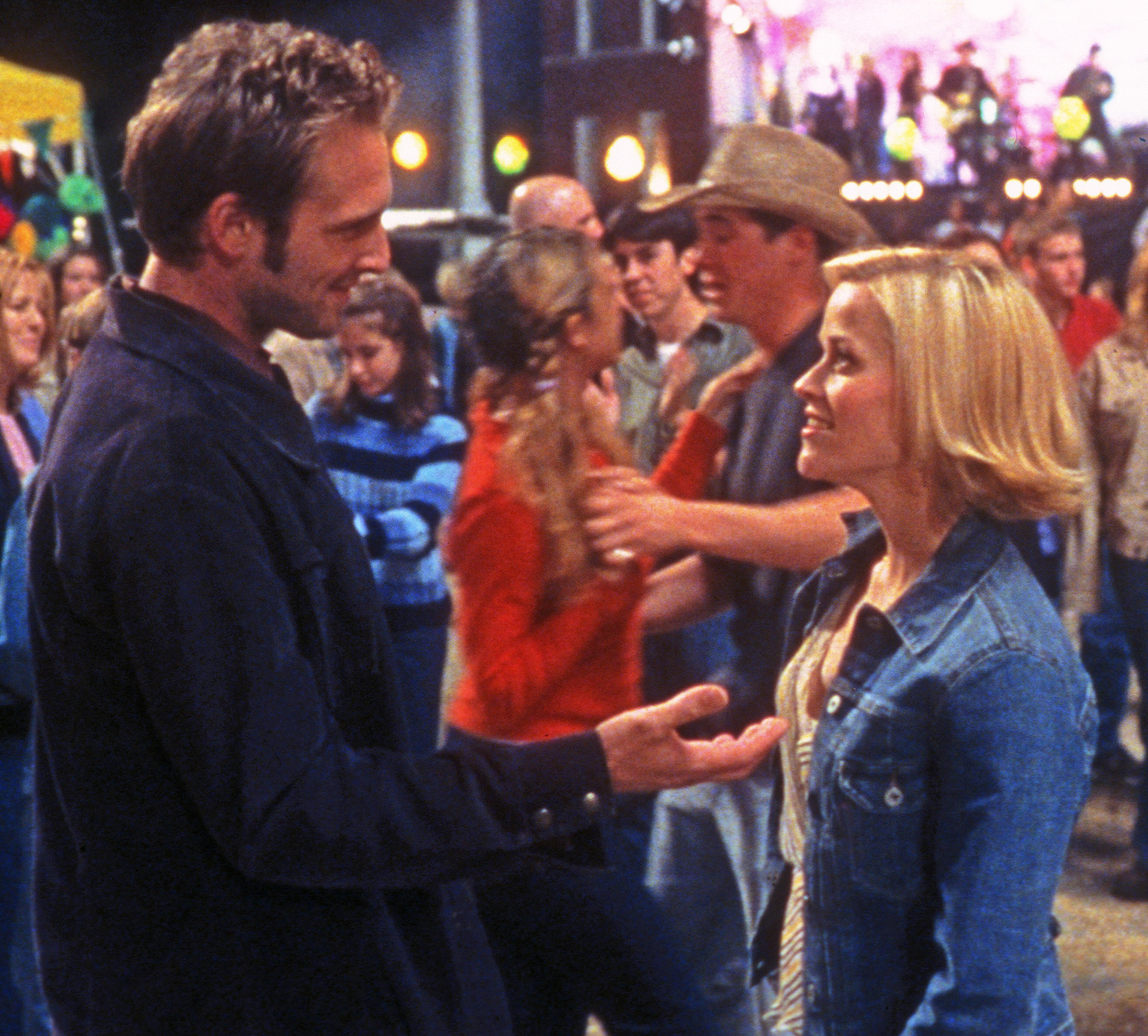 Josh Lucas and Reese Witherspoon in Sweet Home Alabama