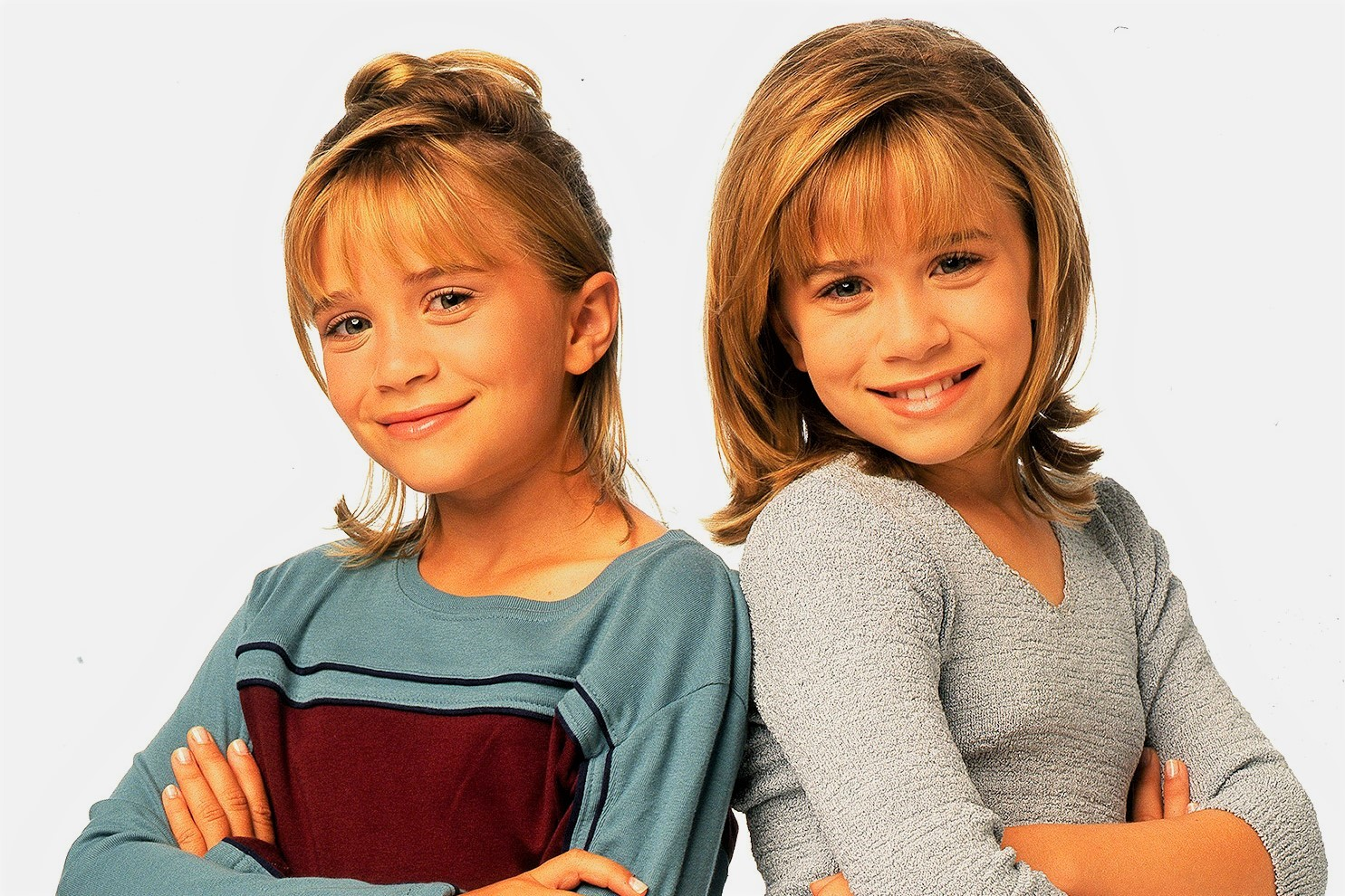 Young Mary-Kate and Ashley Olsen Twins