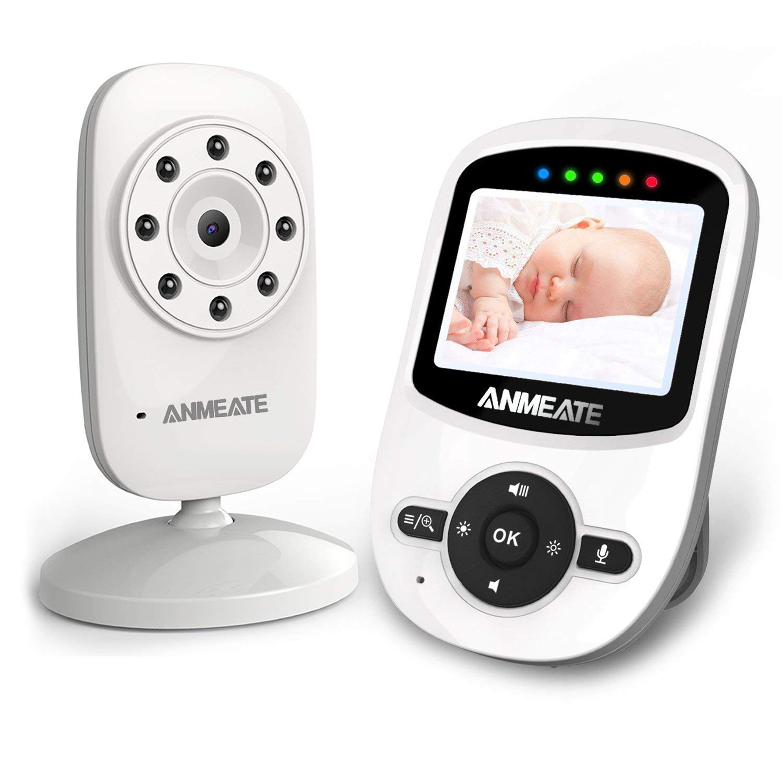 ANMEATE Video Baby Monitor with Digital Camera