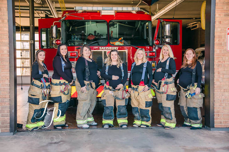 Brianna Mitschele flashpoint photography expectant firefighters wives