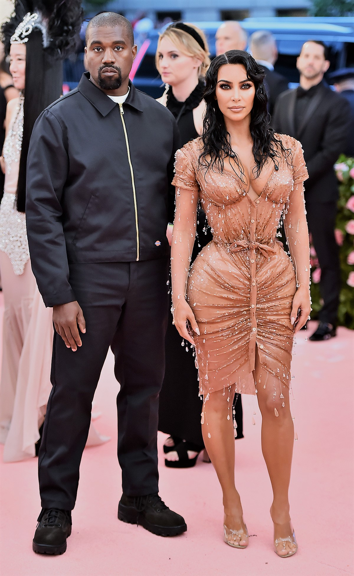 Kim Kardashian Is 'Aware' of Controversy Over Psalm's First Photo: 'It Was Staged,' Says Source