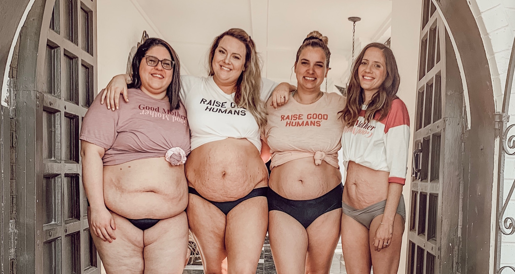 Mom Influencers Celebrate All Kinds of Post-Baby Bodies in These Gorgeous Viral Photos