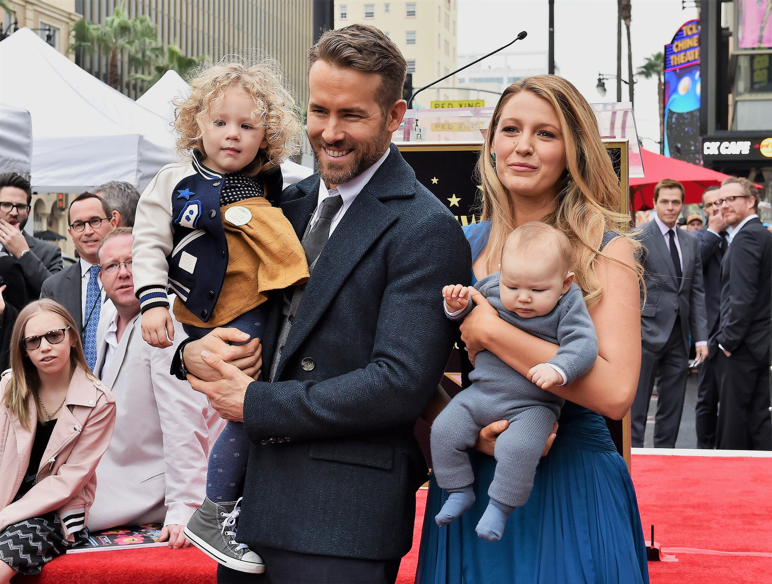 Ryan Reynolds Jokes About Traveling with Two Kids: I 'Ask the Flight Attendant If I Can Leave'