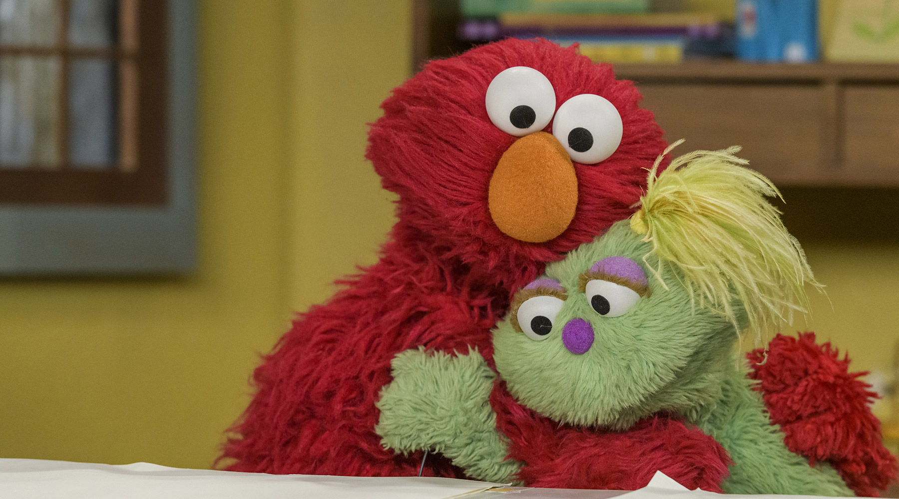 Meet Karli! Sesame Street Introduces New Muppet Who's in Foster Care & Lives with 'For-Now Parents'