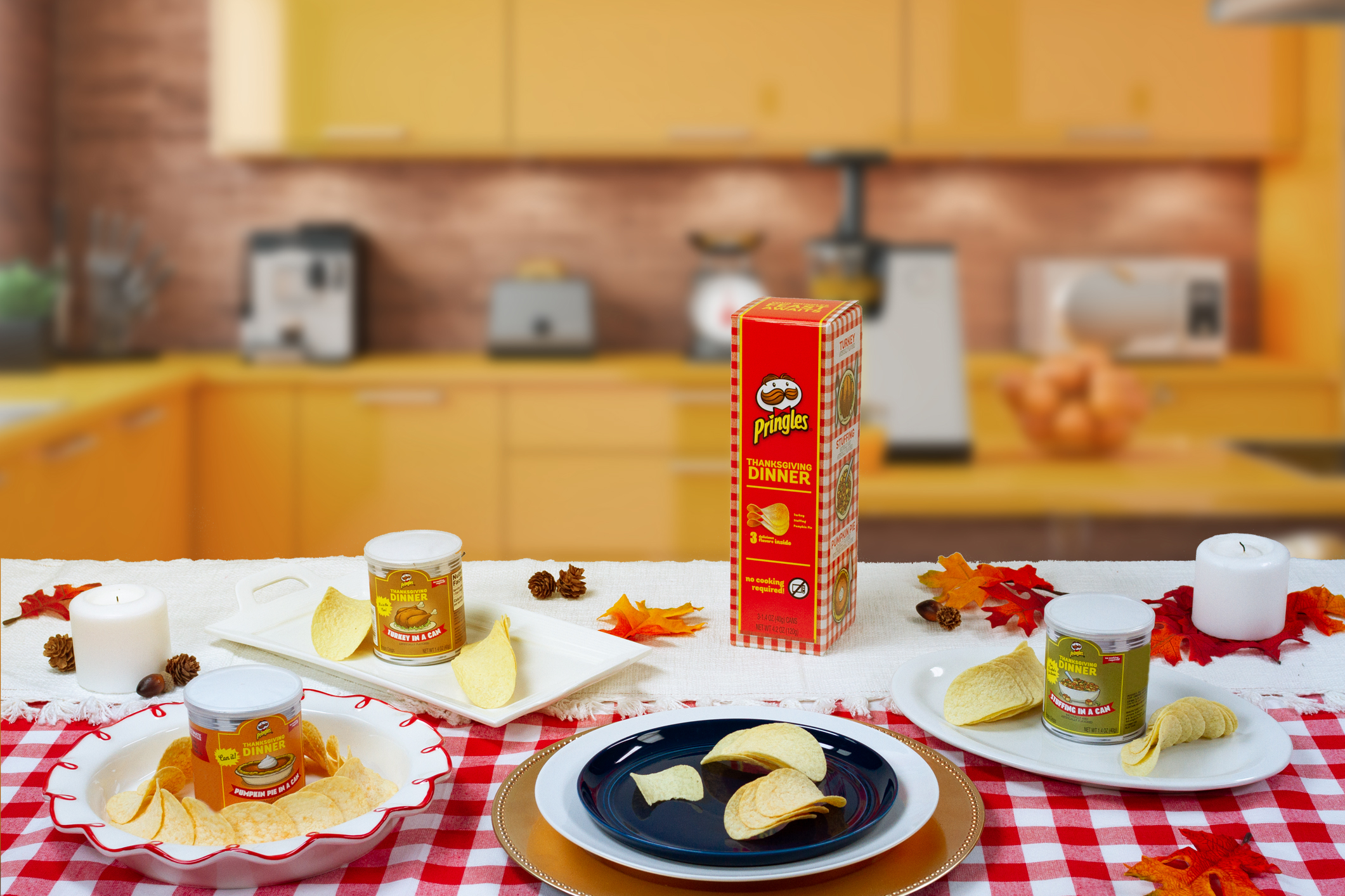 Pringles Thanksgiving Dinner Flavor Chips