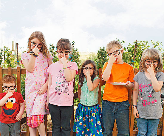 Kids in glasses