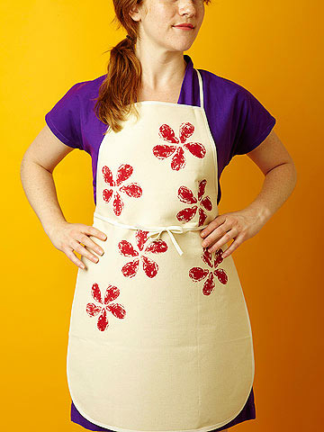 Stamped Apron