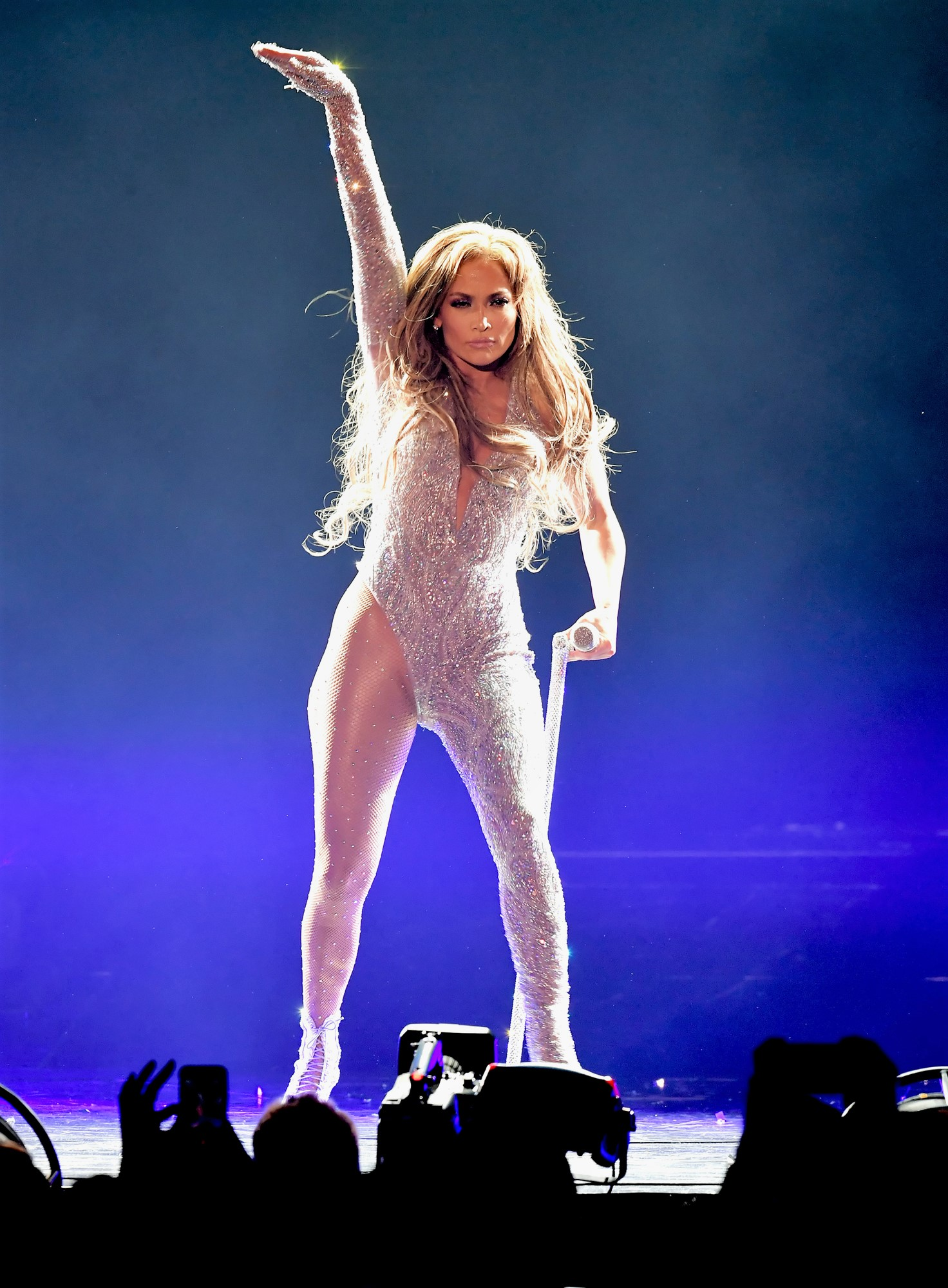 Jennifer Lopez Kicks Off Her 50th Birthday Tour with a 'Limitless' Duet with Daughter Emme, 10