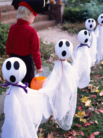 Friendly ghosts