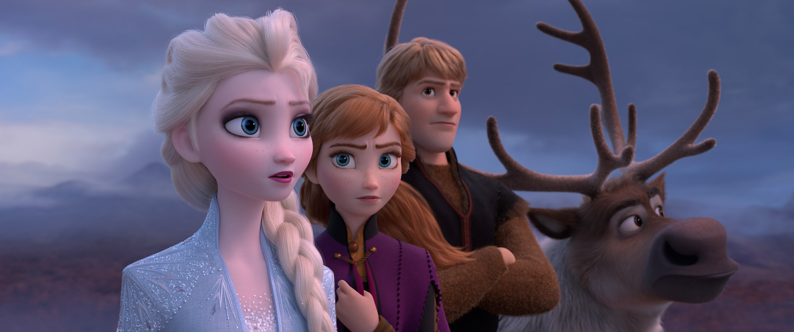 Anna and Elsa Face 'Mortal Danger' on Epic Adventure in the New Full-Length Trailer for Frozen 2