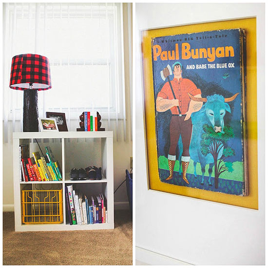 Paul Bunyan cover framed