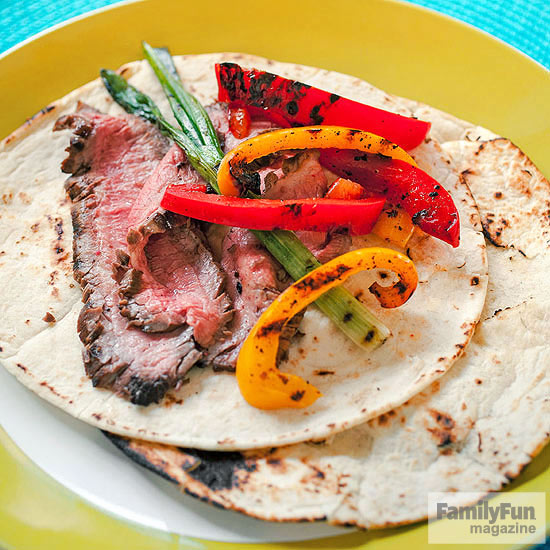 Pineapple-Juiced Steak Fajitas