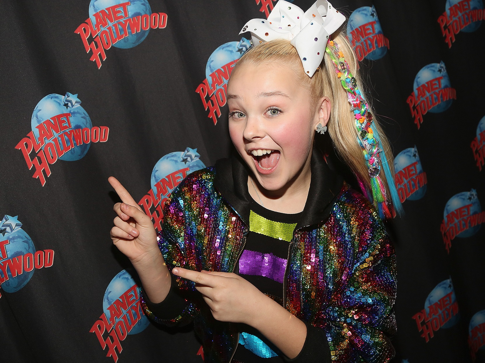 Jojo Siwa Planet Hollywood