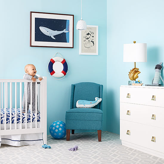 Best Products To Design A Sea Themed Nursery Room Pas