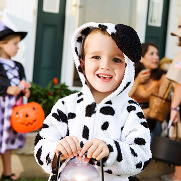 child trick or treating
