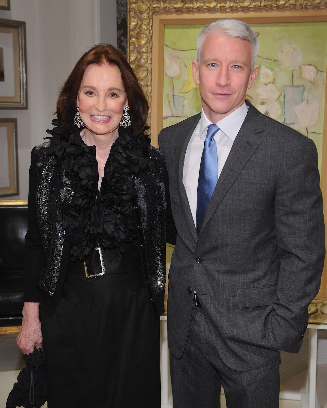 Gloria Vanderbilt, Style Icon and Mother of Anderson Cooper, Dies at 95