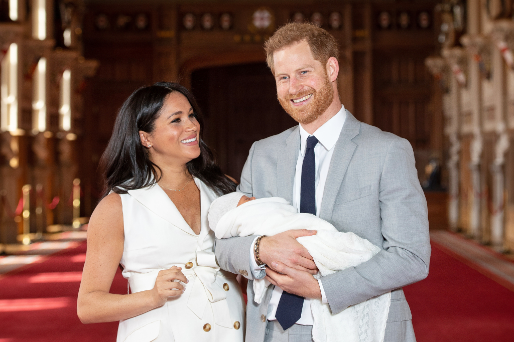 Prince Harry Shares Cuddly New Photo of Archie While Celebrating His First Father's Day