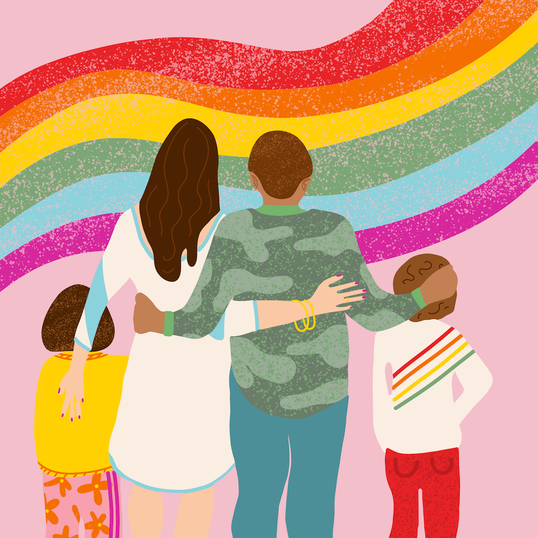 lgbtq family pride day