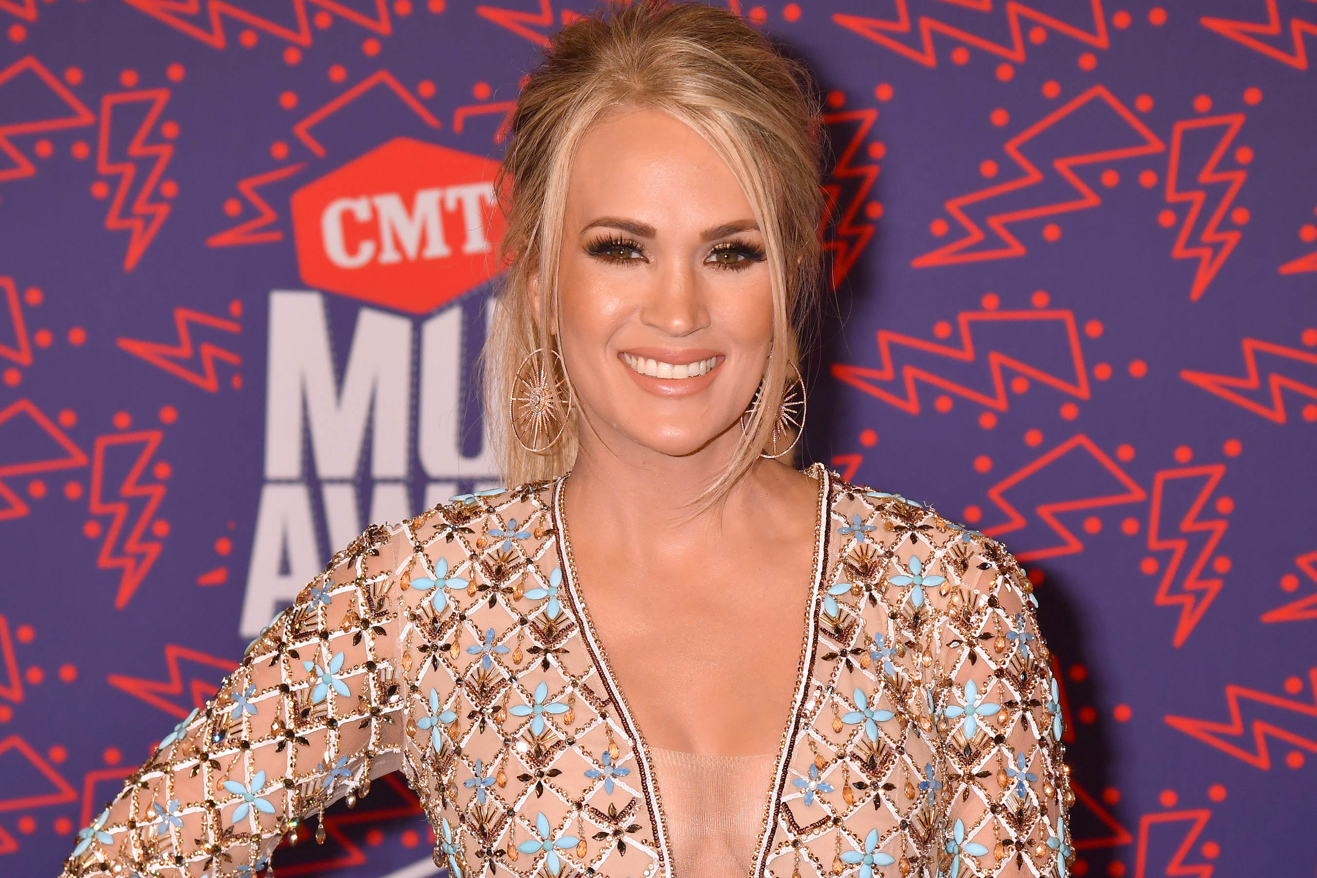 Carrie Underwood Shares Hilarious Video of 5-Month-Old Son Jacob Crying at His Dad's Singing
