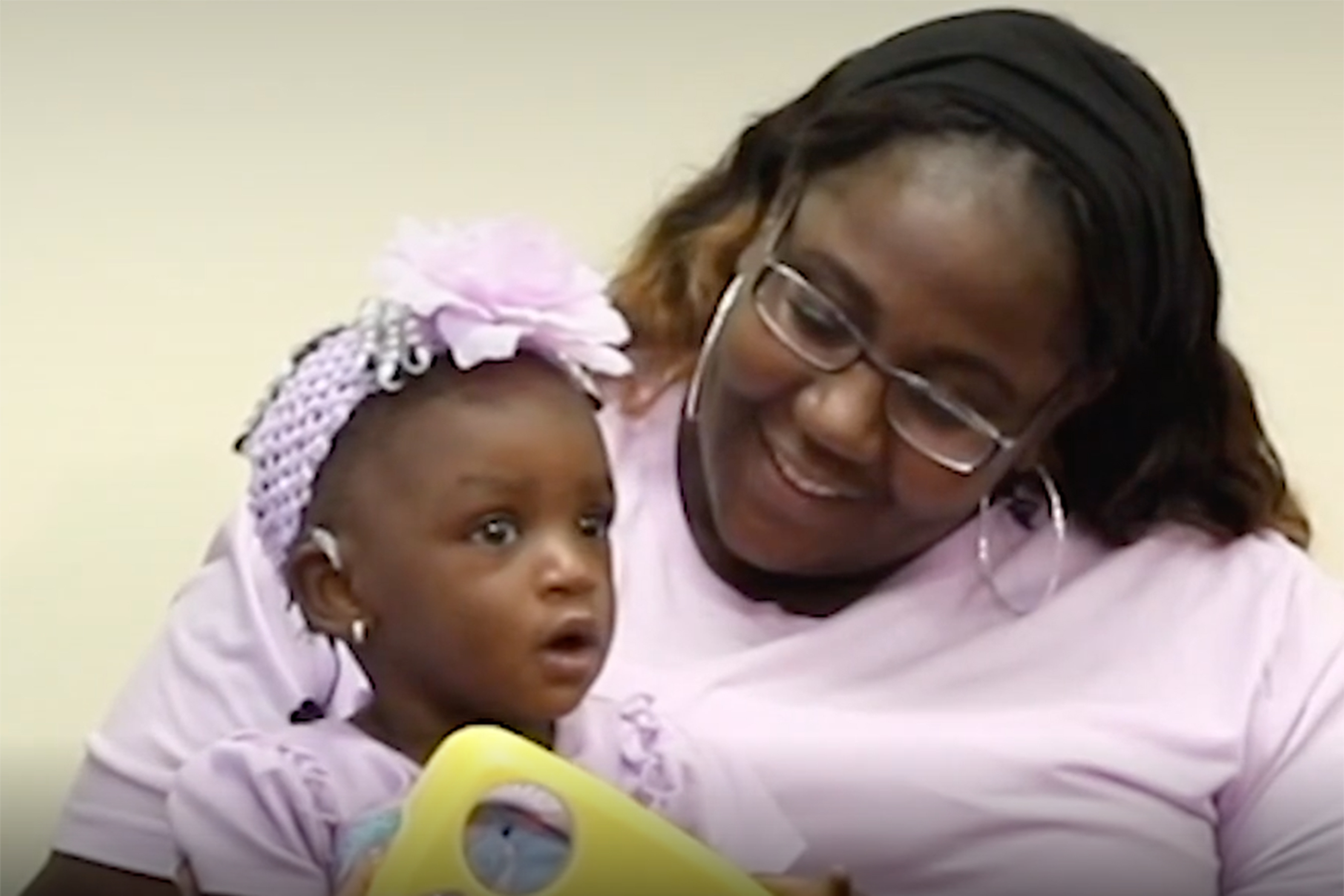 Deaf Toddler Hears Her Mom Say 'I Love You' for the First Time After Getting Cochlear Implants