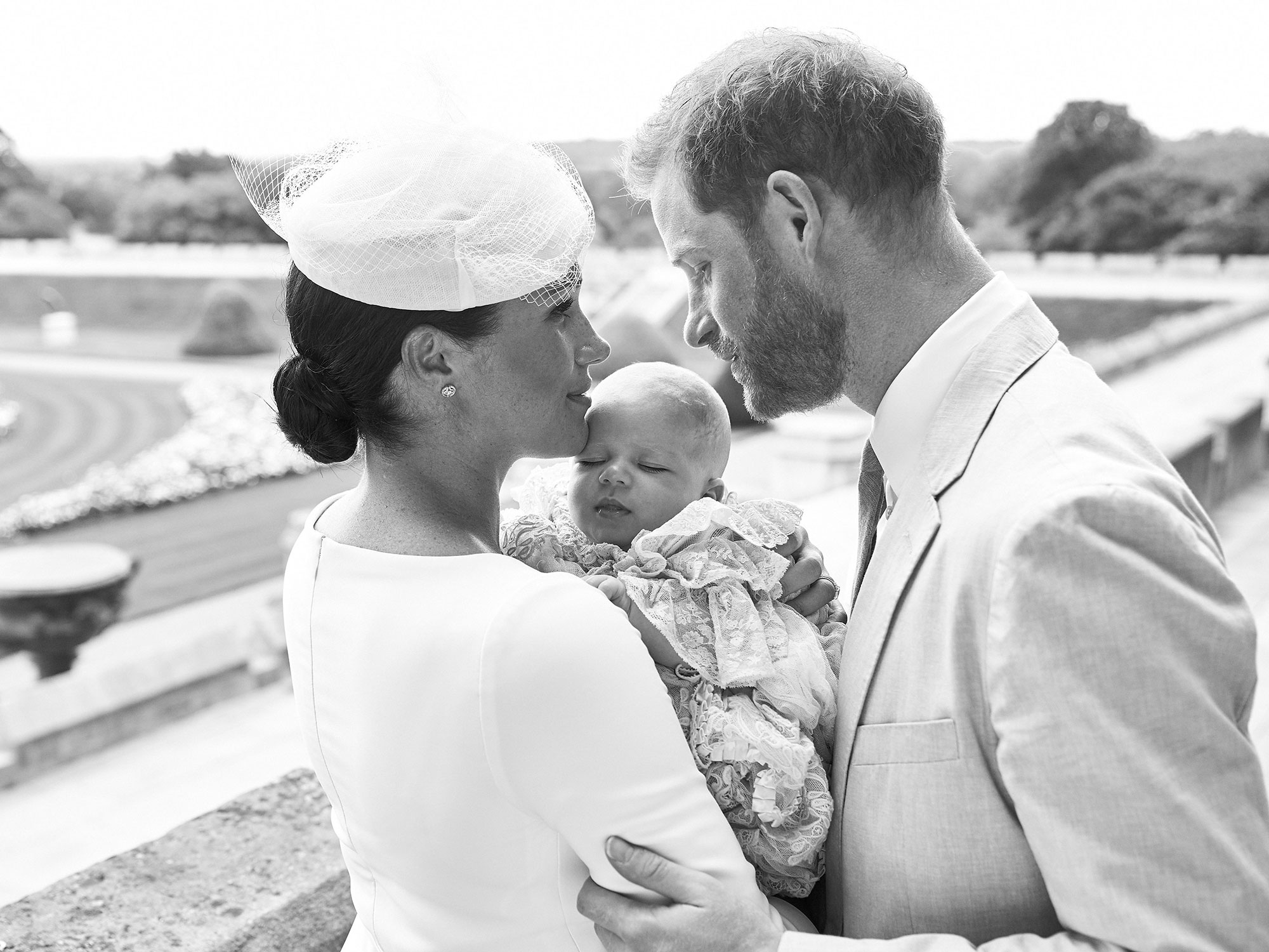 Archie's Big Day! Meghan Markle and Prince Harry's Son Has Christening at Queen's Private Chapel