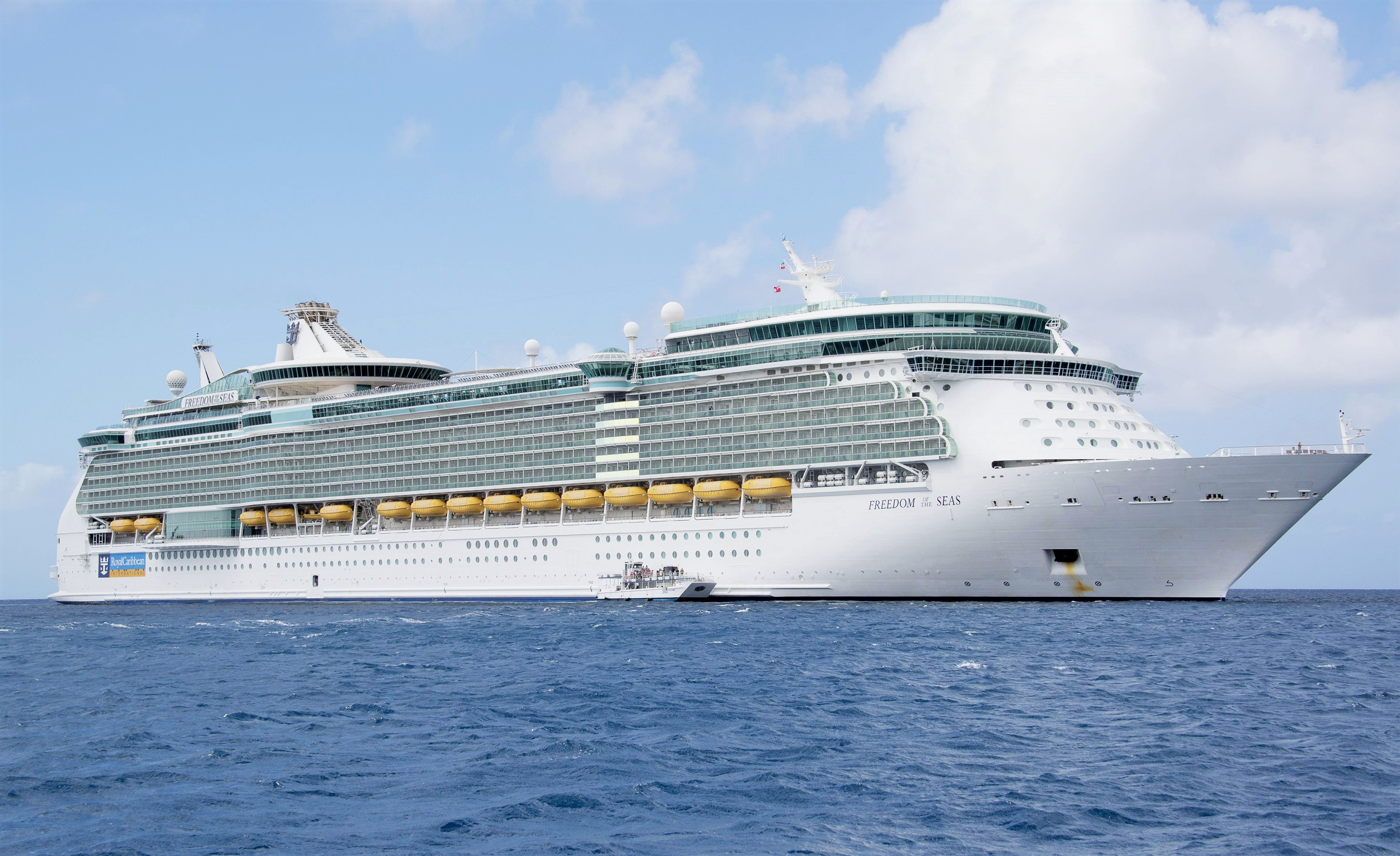The Royal Caribbean Freedom of the Seas Cruise Ship