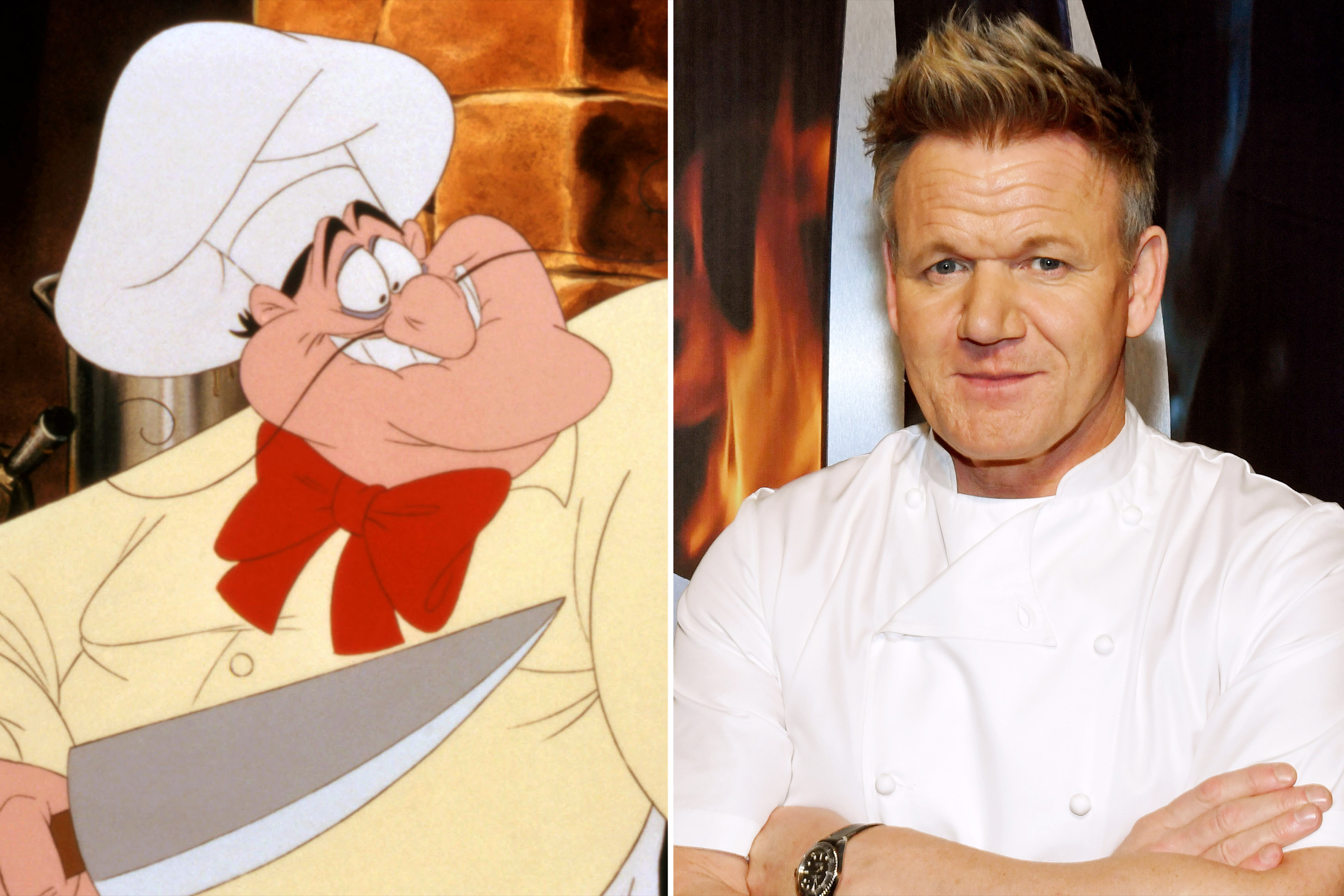 The Little Mermaid Fans Want Gordon Ramsay Playing Angry Chef Louis in Live-Action Adaptation