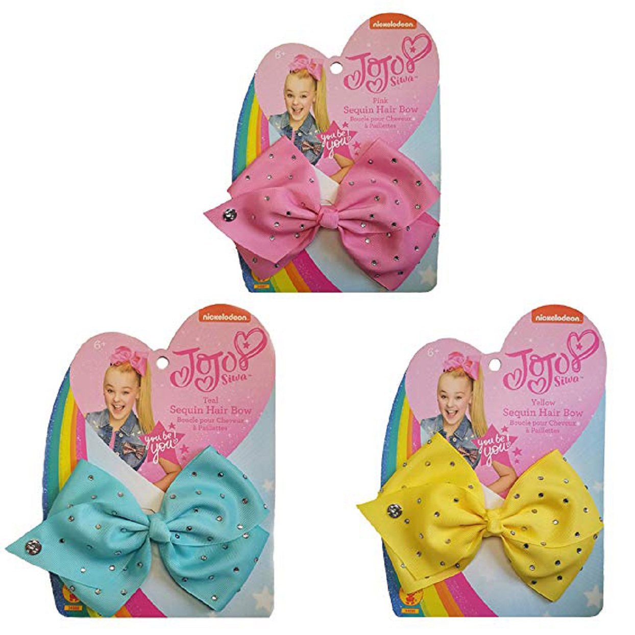 JoJo Siwa Three Bow Bundle