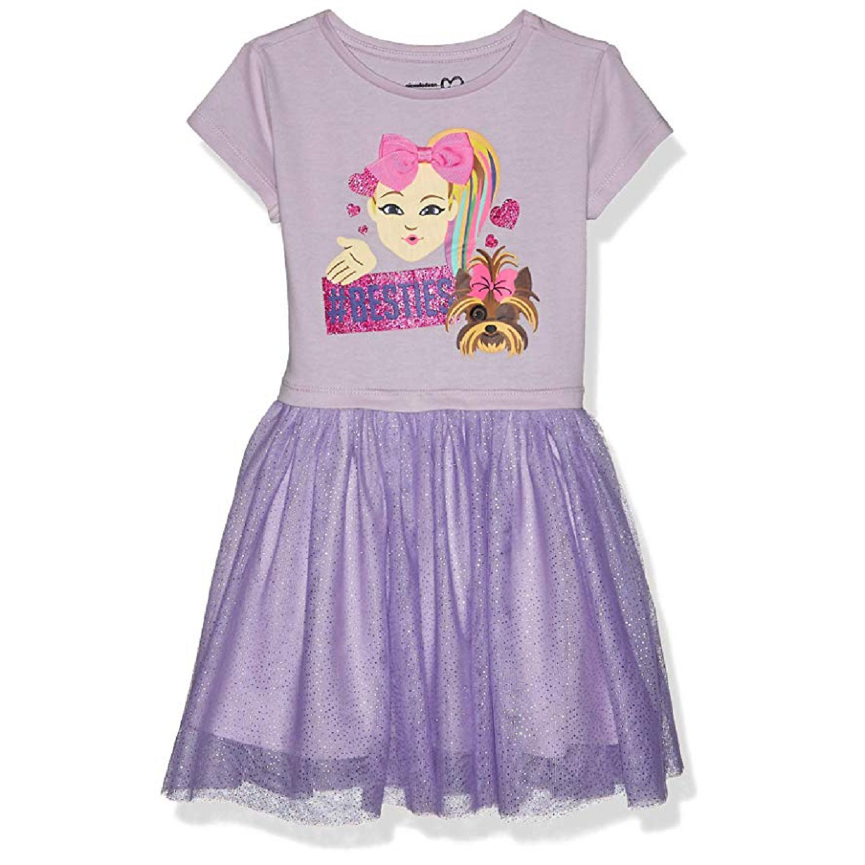 JoJo Siwa #Besties Tutu Dress with Tulle Skirt