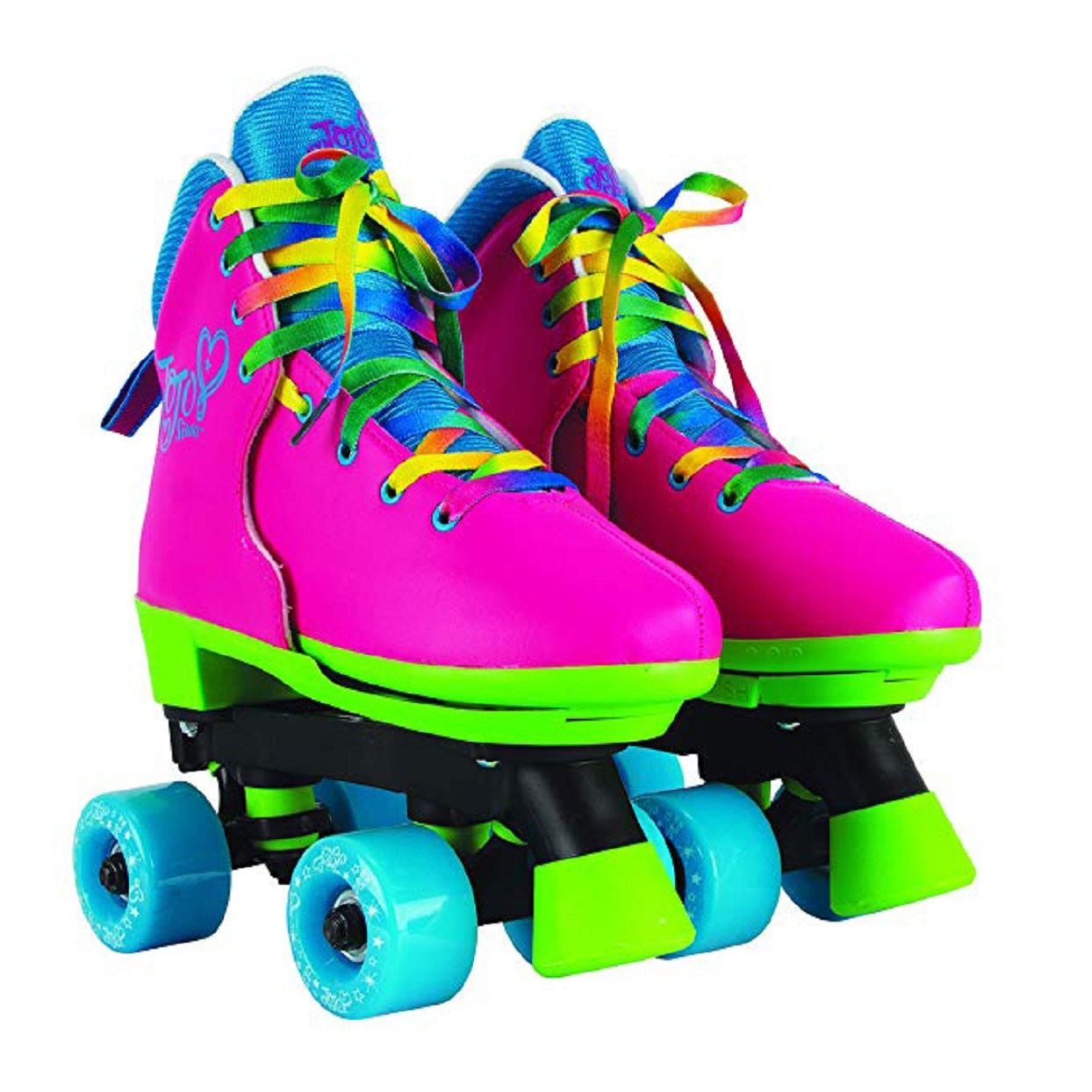 Jojo Siwa Circle Society Classic Adjustable Indoor and Outdoor Childrens Roller Skates Rainbow