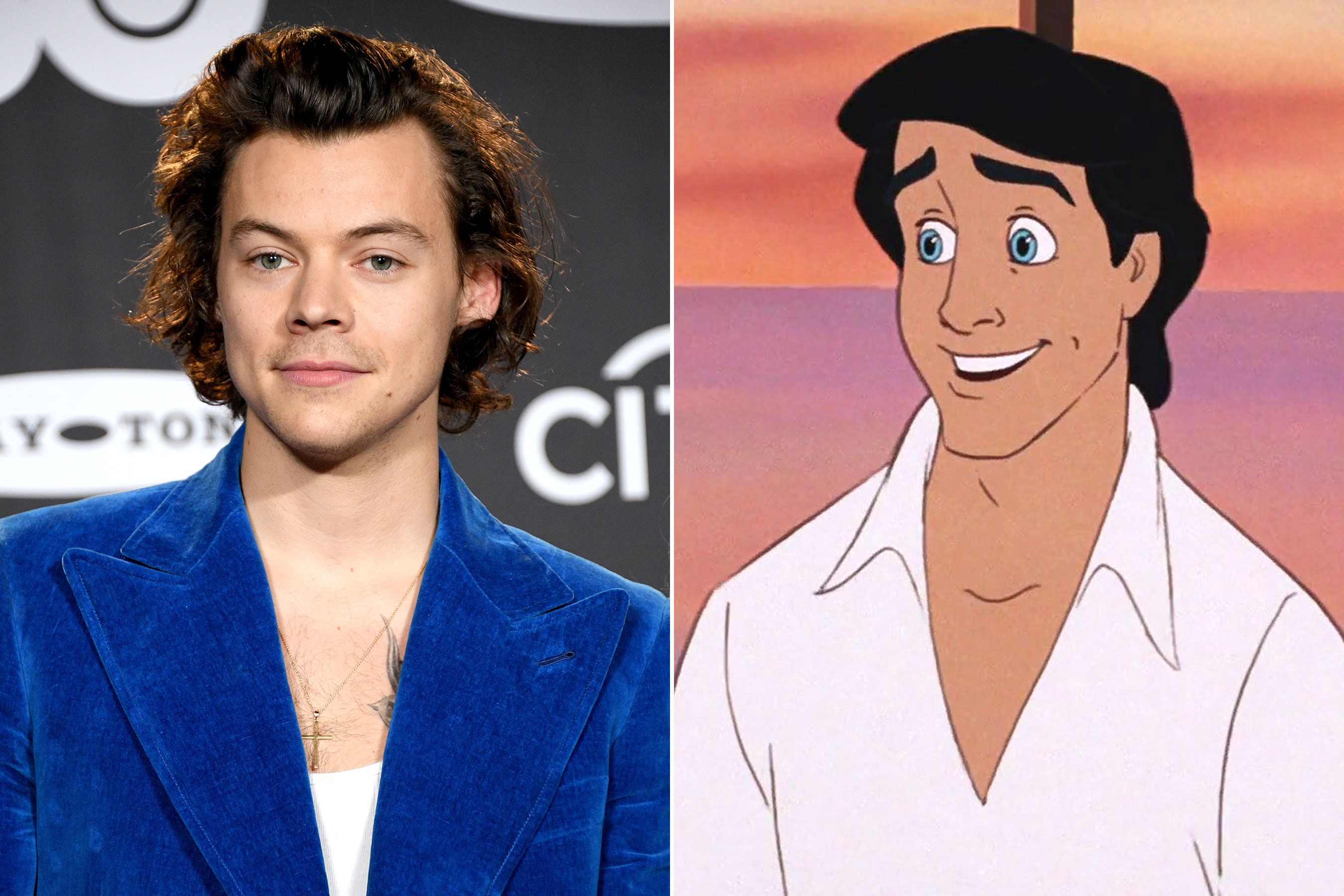 Harry Styles Is in Early Talks to Romance Ariel as Prince Eric in The Little Mermaid