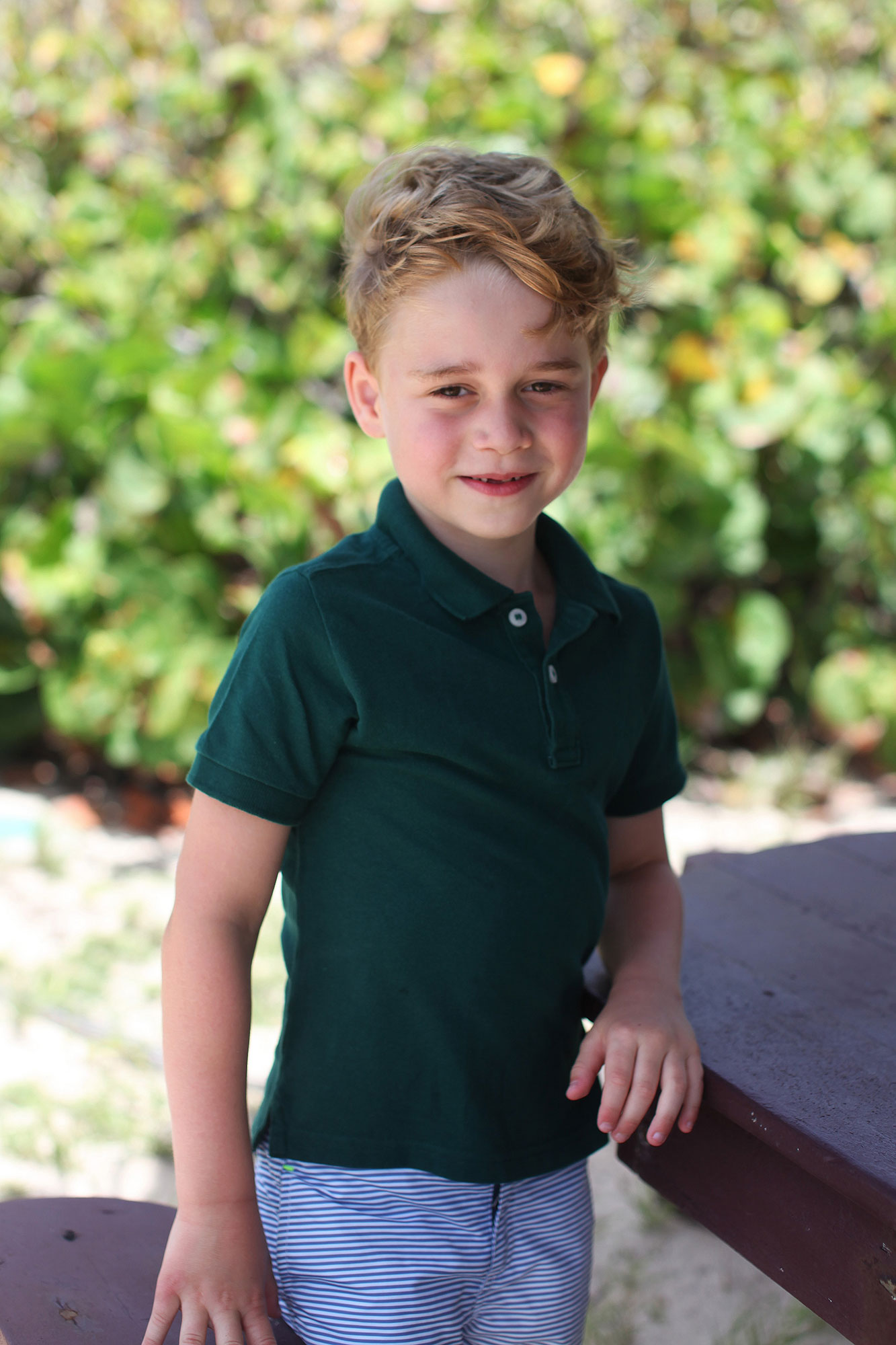 Prince George Birthday Portrait 3