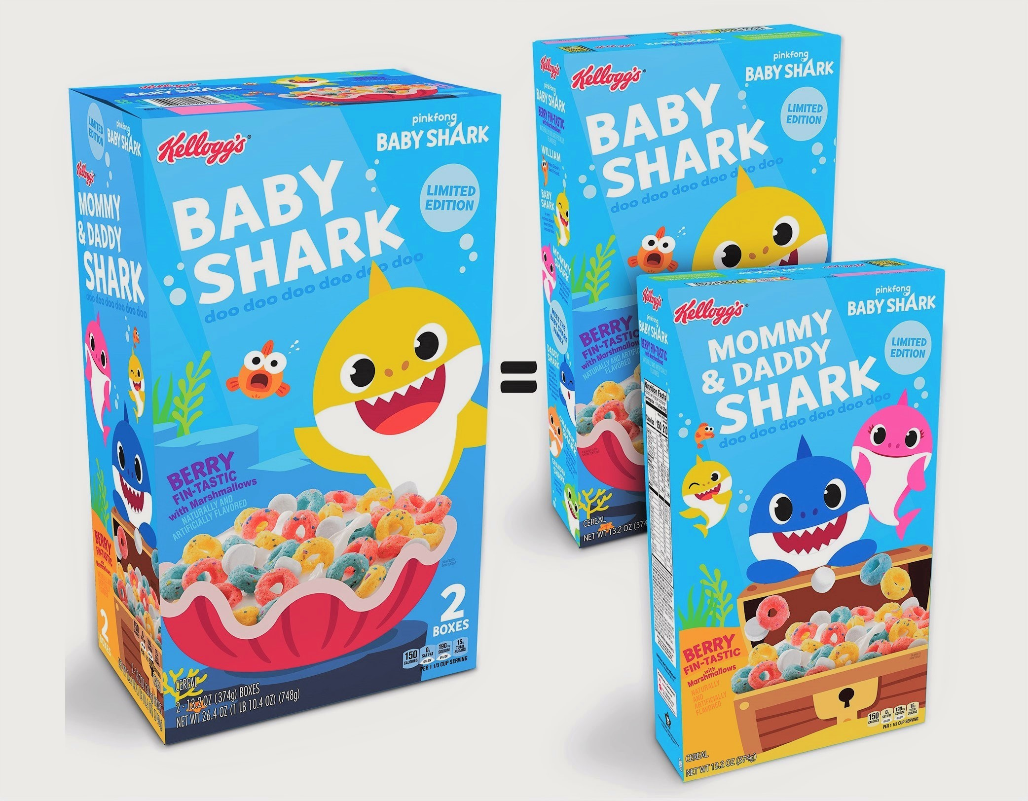 'Baby Shark' Is Hitting Food Shelves! Kellogg's Will Launch New Cereal Inspired by the Catchy Tune