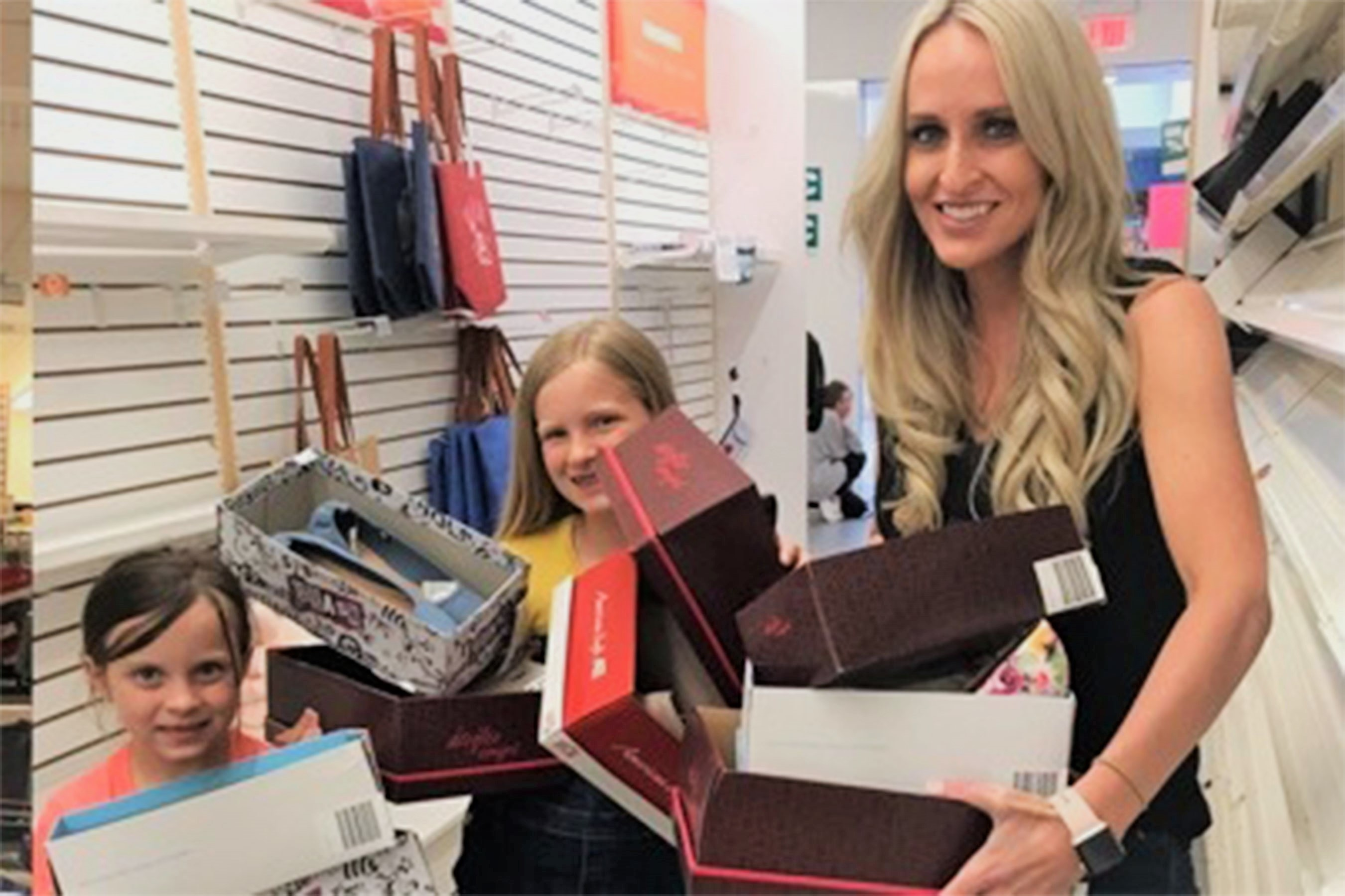Woman Buys Out Entire Payless Store, Worth Almost $21K, and Donates 1.5K Shoes to Students