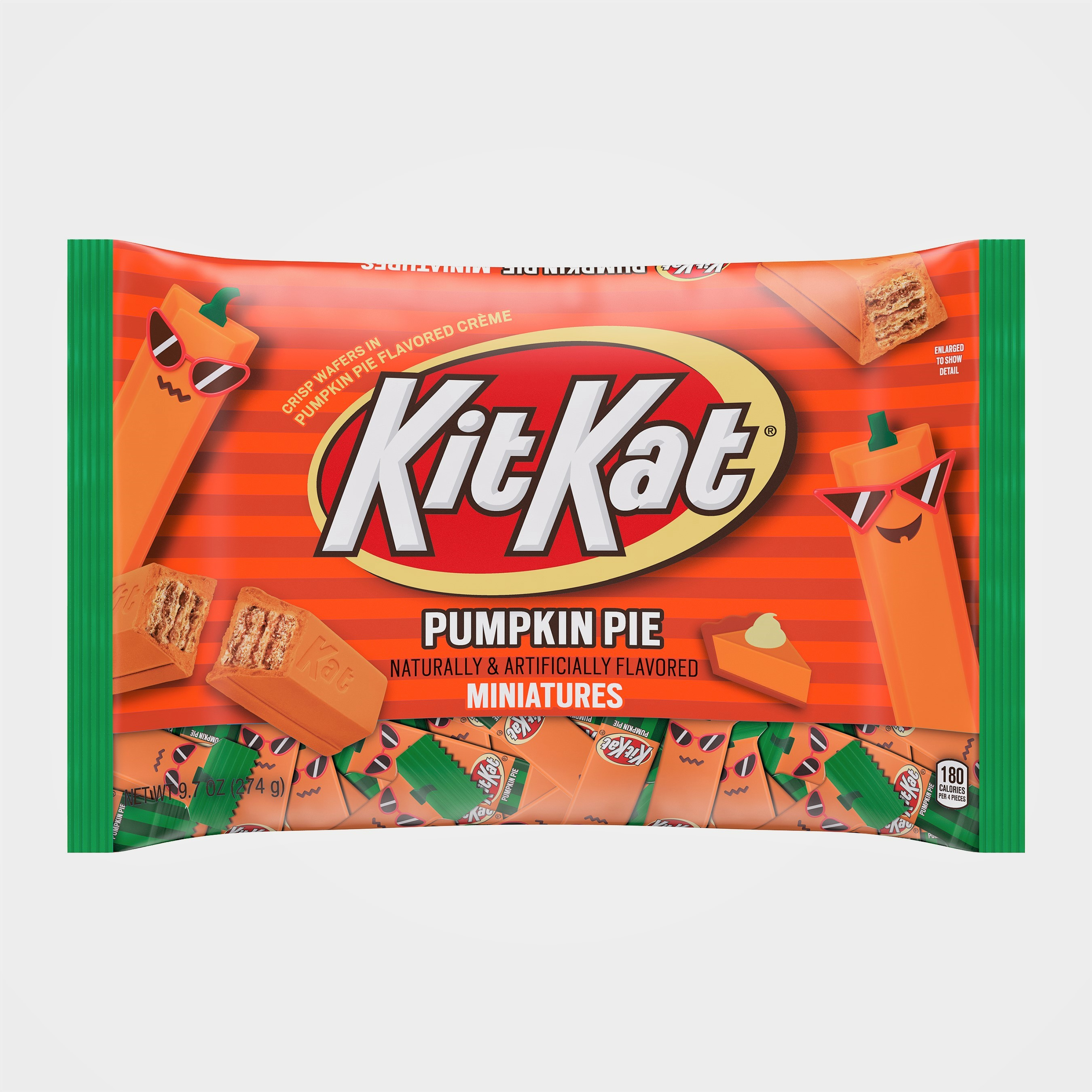 Pumpkin Pie Kit Kats Are Here to Get Your Taste Buds Ready for Fall
