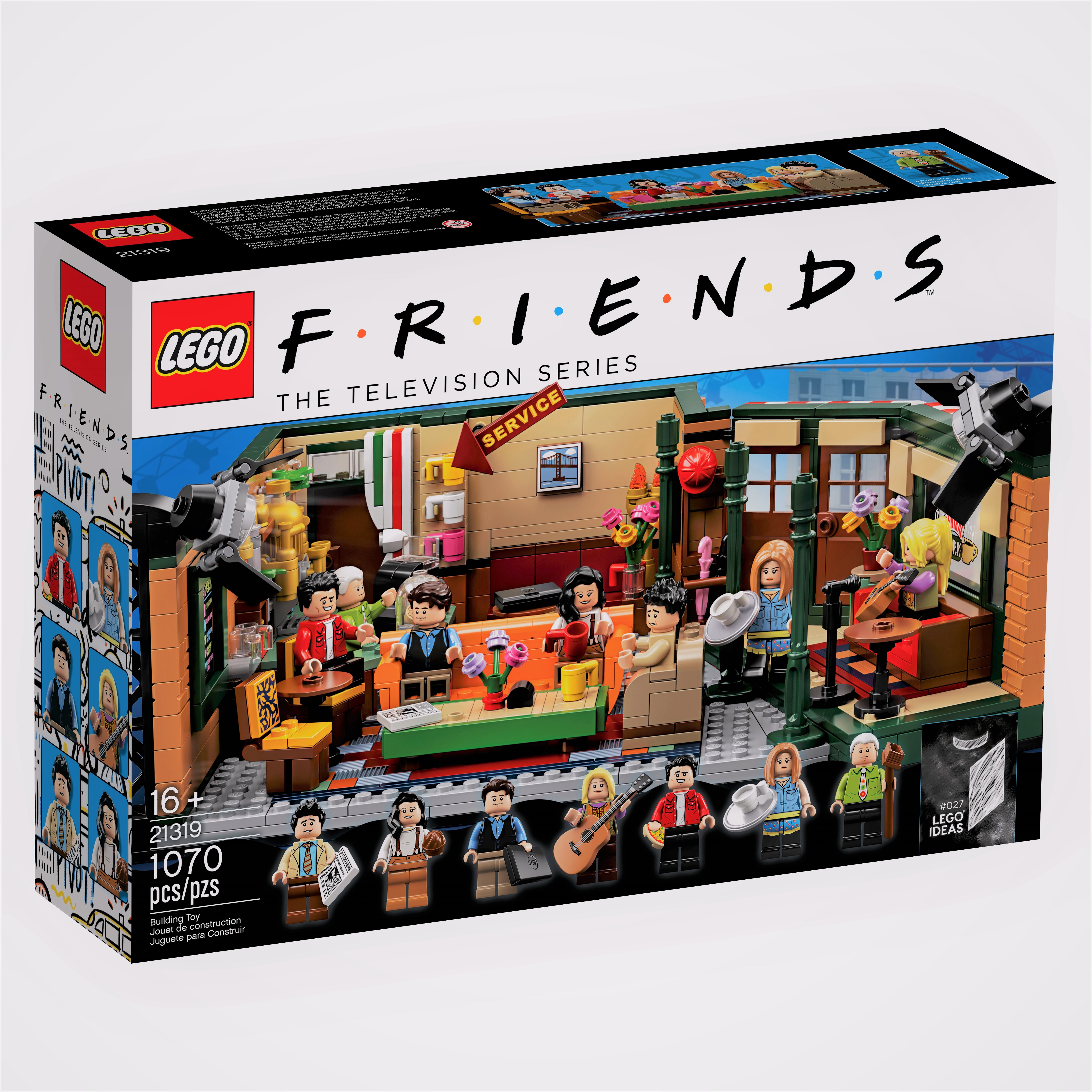 LEGO Releases Friends Set in Honor of Sitcom's 25th Anniversary — and It Includes Gunther!