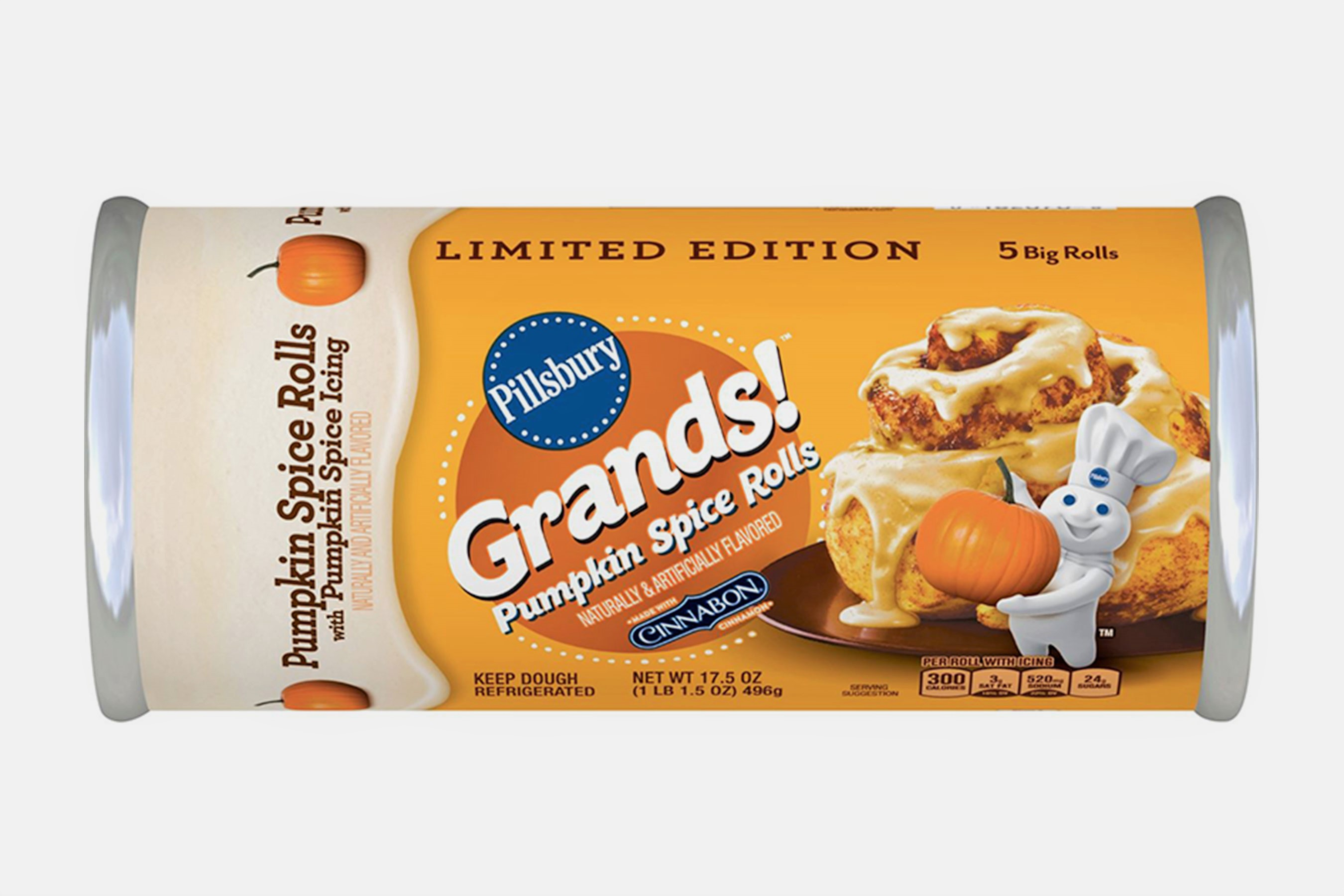 Is That You, Fall? Pillsbury Pumpkin Spice Cinnamon Rolls Are Back in Stores