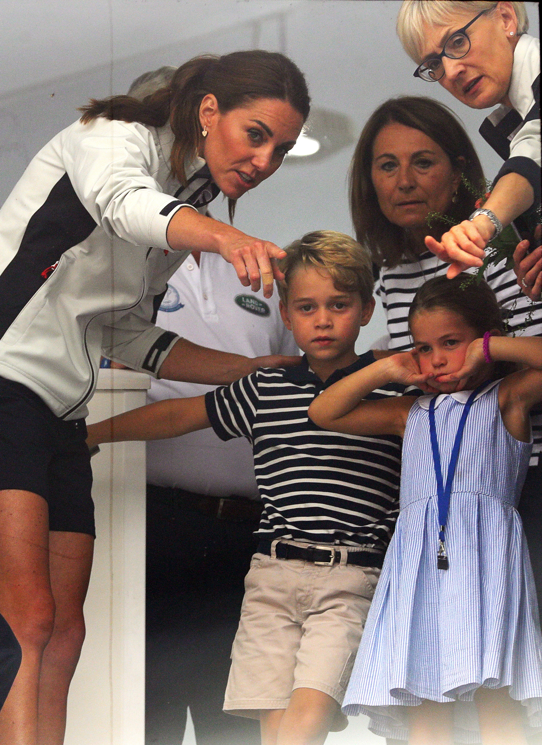 See Kate Middleton Jump Into Mom Mode After Princess Charlotte Playfully Sticks Out Her Tongue!