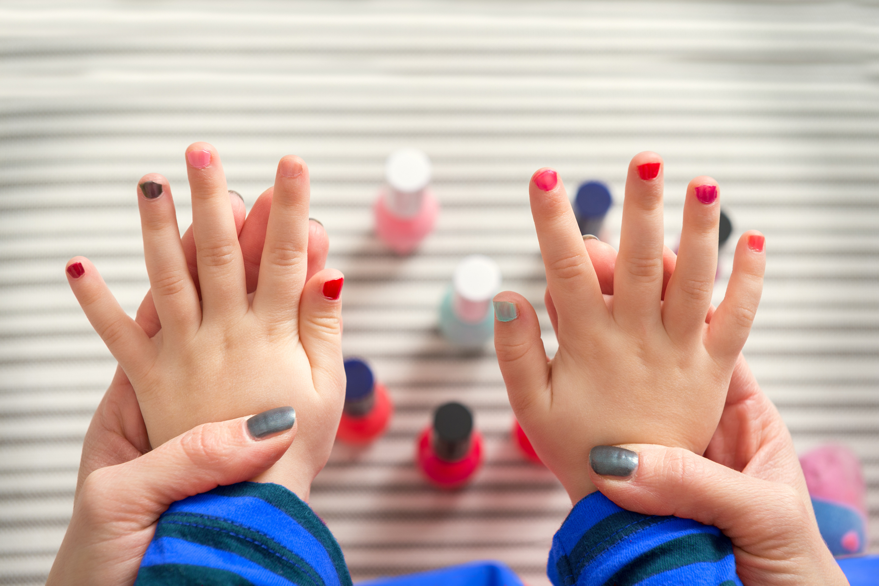 Painting My Son's Nails is My Favorite Way to Bond