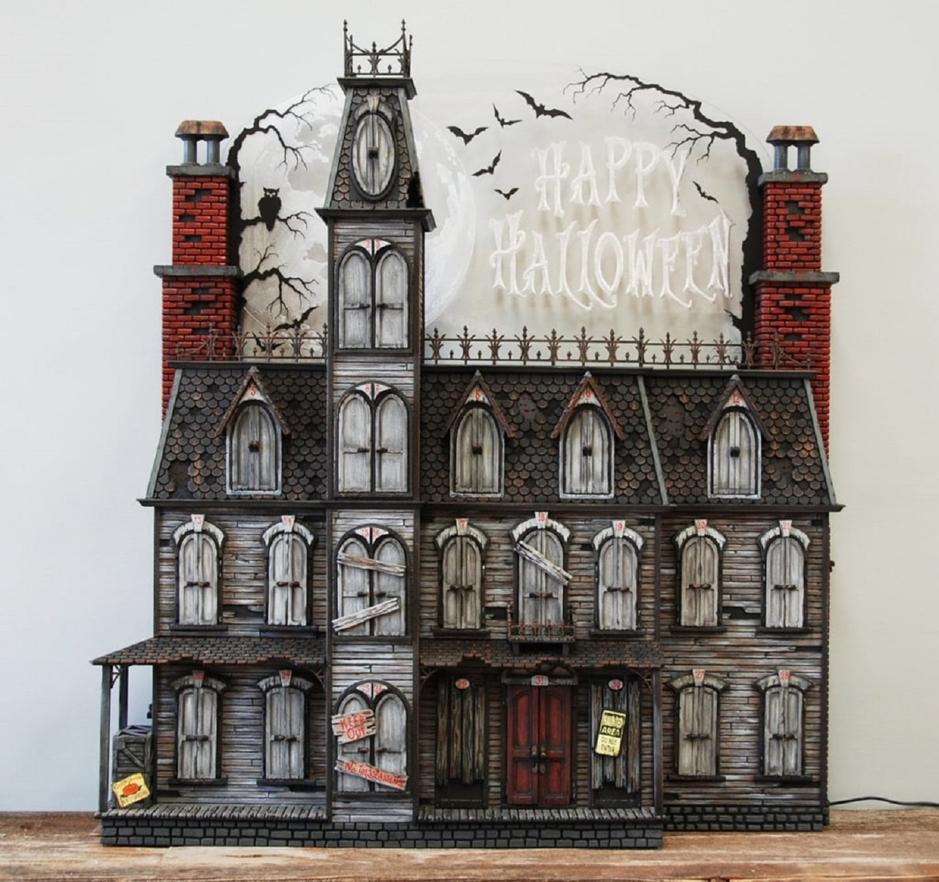 Halloween Advent Calendars Victorian Haunted House