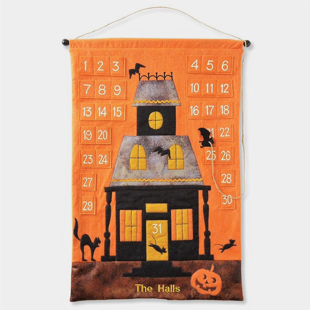 Halloween Advent Calendars Fabric Features