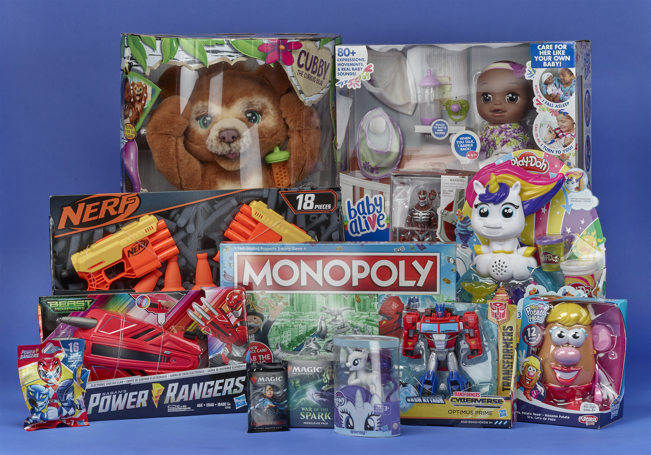 Hasbro Is Phasing Out Plastic Packaging for Kids Toys and Games by 2022